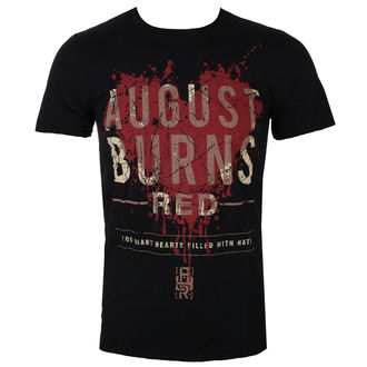 t-shirt metal men's August Burns Red - Heart Filled - ROCK OFF, ROCK OFF, August Burns Red