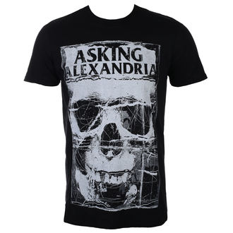 sweatshirt (no hood) men's Asking Alexandria - Skull Shield - PLASTIC HEAD