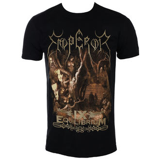 t-shirt metal men's Emperor - IX EQUILIBRIUM - PLASTIC HEAD - PH10360