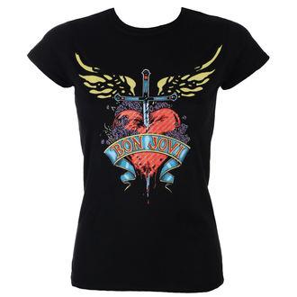 t-shirt metal women's Bon Jovi - HEART & DAGGER - PLASTIC HEAD, PLASTIC HEAD, Bon Jovi