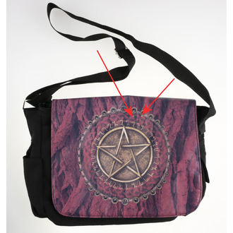 bag Pentagram - Red - B0572B4 - DAMAGED, Nemesis now
