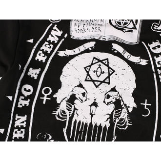 hoodie men's - DEATH TO ALL- BLACK - HEARTLESS, HEARTLESS