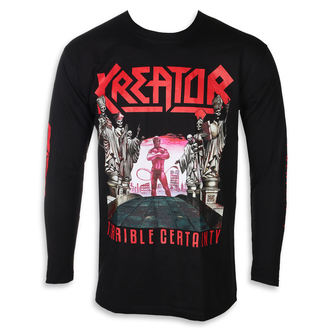 t-shirt metal men's Kreator - TERRIBLE CERTAINTY - PLASTIC HEAD, PLASTIC HEAD, Kreator