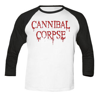 t-shirt metal men's Cannibal Corpse - Dripping logo BASEBALL - NUCLEAR BLAST, NUCLEAR BLAST, Cannibal Corpse