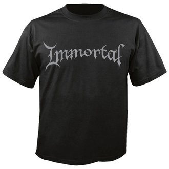 t-shirt metal men's Immortal - Logo - NUCLEAR BLAST, NUCLEAR BLAST, Immortal