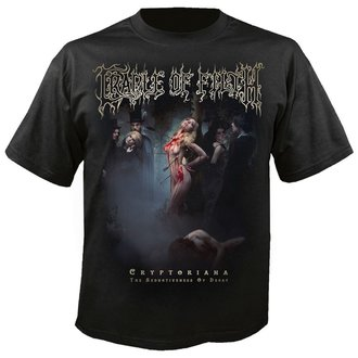 t-shirt metal men's Cradle of Filth - Exquisite torments await - NUCLEAR BLAST - 2654_TS
