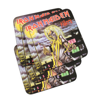Coasters IRON MAIDEN - ROCK OFF, ROCK OFF, Iron Maiden