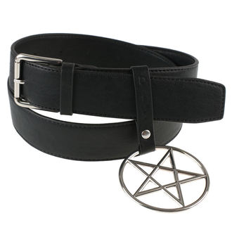 Belt DISTURBIA - RING PENTAGRAM, DISTURBIA