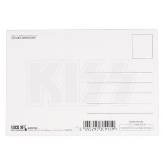 Postcard KISS - CUTTER - ROCK OFF, ROCK OFF, Kiss