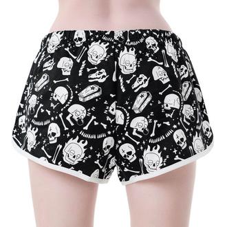 Women's shorts KILLSTAR - Drowsy - BLACK - KSRA001911