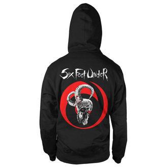 hoodie men's Six Feet Under - Goatskull - NUCLEAR BLAST, NUCLEAR BLAST, Six Feet Under