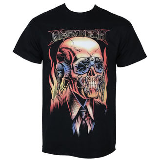 t-shirt metal men's Megadeth - FLAMING VIC - PLASTIC HEAD, PLASTIC HEAD, Megadeth