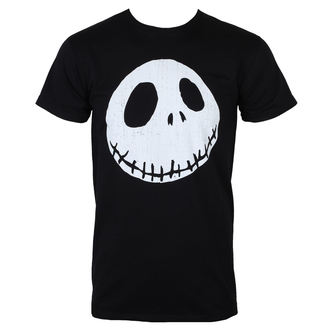 film t-shirt men's Nightmare Before Christmas - CRACKED FACE - PLASTIC HEAD, PLASTIC HEAD
