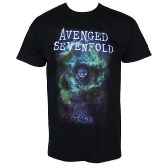 t-shirt metal men's Avenged Sevenfold - SPACE FACE - PLASTIC HEAD, PLASTIC HEAD, Avenged Sevenfold