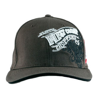 Cap West Coast Choppers - WINGS - Anthracite, West Coast Choppers
