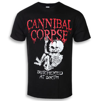 t-shirt metal men's Cannibal Corpse - BUTCHERED AT BIRTH BABY - PLASTIC HEAD, PLASTIC HEAD, Cannibal Corpse