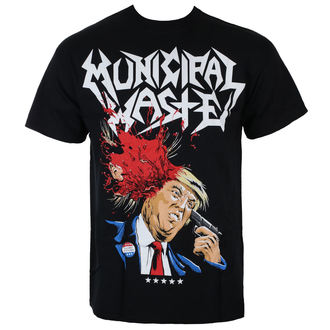 t-shirt metal men's Municipal Waste - TRUMP - Just Say Rock, Just Say Rock, Municipal Waste