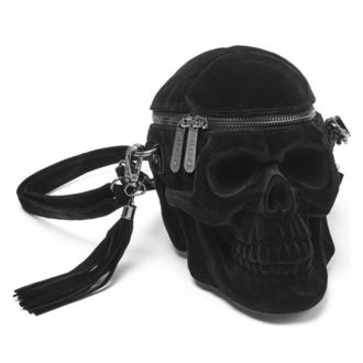 Handbag (bag) KILLSTAR - Grave Digger - Velvet, KILLSTAR