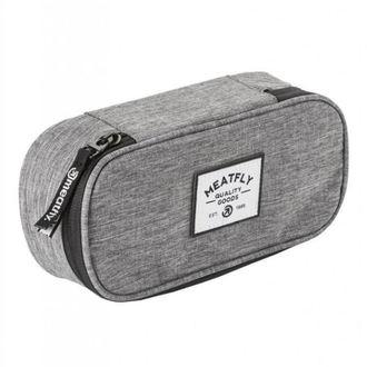Pencil case MEATFLY - D - Heather Grey, MEATFLY