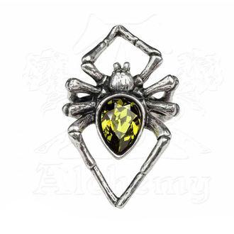 Ring ALCHEMY GOTHIC - Emerald Venom - R222