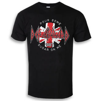 t-shirt metal men's Def Leppard - Pour Some Sugar On Me - HYBRIS, HYBRIS, Def Leppard