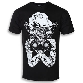 film t-shirt men's Marilyn Monroe - Gangsta Pose - HYBRIS - AB-1-17543-L104-BK
