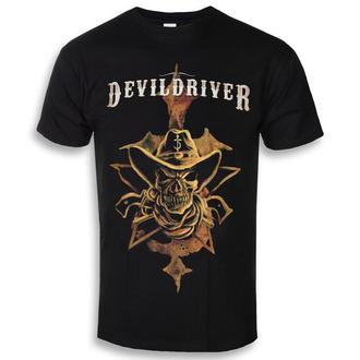 t-shirt metal men's Devildriver - Cowboy - NAPALM RECORDS, NAPALM RECORDS, Devildriver