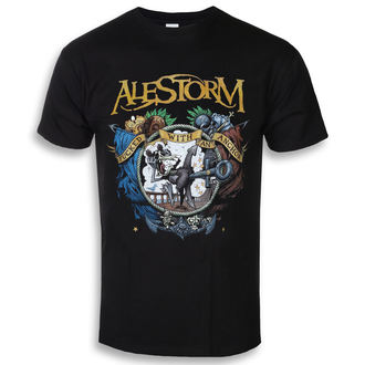 t-shirt metal men's Alestorm - Fucked With An Anchor - NAPALM RECORDS, NAPALM RECORDS, Alestorm