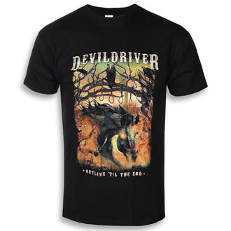 t-shirt metal men's Devildriver - Outlaws Til The End - NAPALM RECORDS, NAPALM RECORDS, Devildriver
