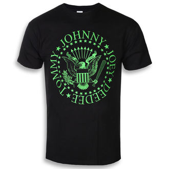 t-shirt metal men's Ramones - Green Seal - ROCK OFF, ROCK OFF, Ramones