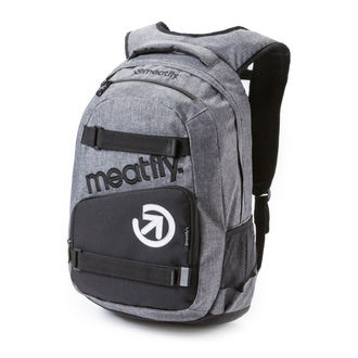 backpack MEATFLY - Exile - A Heather Gray / Black, MEATFLY