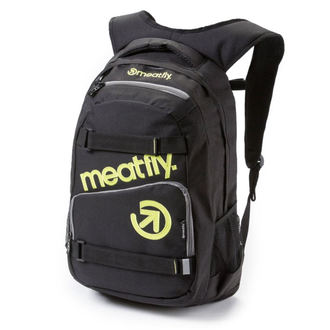 backpack MEATFLY - Exile - B Black, MEATFLY