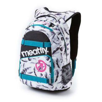 backpack MEATFLY - Exile - H Feather White, MEATFLY