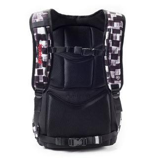 Backpack MEATFLY - Exile - E Cross Check Black, MEATFLY
