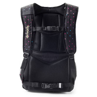 backpack MEATFLY - Exile - G Rainbow Dot Black, MEATFLY