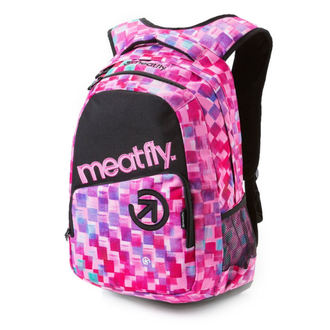backpack MEATFLY - Exile - F Cross Pink / Black, MEATFLY