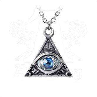Pendant Necklace ALCHEMY GOTHIC - Eye Of Providence, ALCHEMY GOTHIC