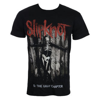 t-shirt metal men's Slipknot - Gray Chapter - ROCK OFF, ROCK OFF, Slipknot