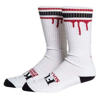 High socks SULLEN - DON'T DIE - WHT / BLK / RED, SULLEN