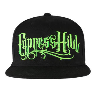 Cap Cypress Hill - Pot Leaf Black, Cypress Hill