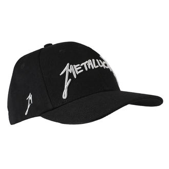 cap Metallica - Garage - Silver Logo Black, Metallica