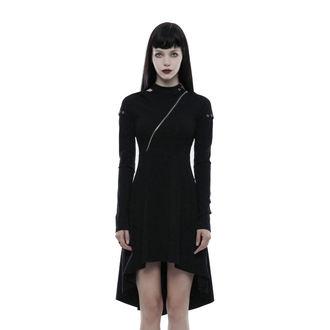 Women's Dress PUNK RAVE - Tech Noir - OPQ-236/BK