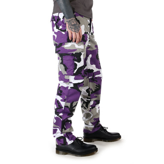 Men's Trousers US BDU - ARMY - LILA CAMO - 200500