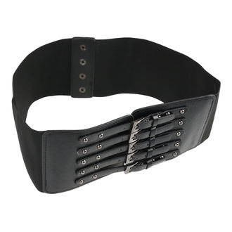 Belt POIZEN INDUSTRIES - SHADOW - BLACK, POIZEN INDUSTRIES