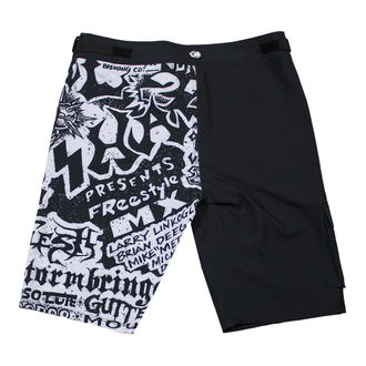 Shorts Men (swim shorts) METAL MULISHA - FLYER- BLK, METAL MULISHA