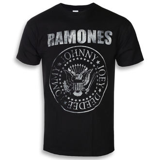 t-shirt metal men's Ramones - Seal Hey Ho - ROCK OFF, ROCK OFF, Ramones