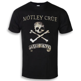 t-shirt metal men's Mötley Crüe - The End - ROCK OFF, ROCK OFF, Mötley Crüe