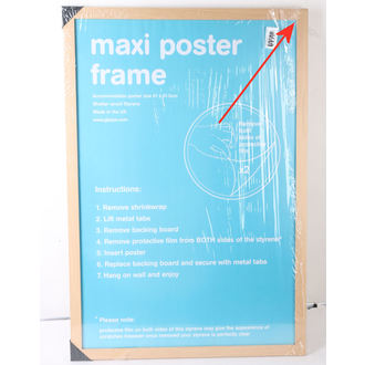 frame to poster (61x91,5 cm) - Beech - GB Posters - DAMAGED - NI077
