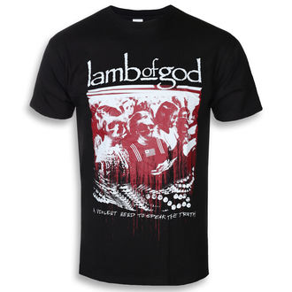 Men's t-shirt Lamb Of God - Enough Is Enough - ROCK OFF, ROCK OFF, Lamb of God
