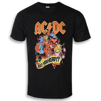 t-shirt metal men's AC-DC - Are You Ready - ROCK OFF, ROCK OFF, AC-DC